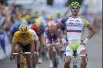 Peter Sagan vyhral prvú etapu Tour de France