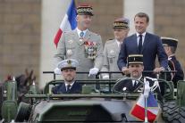 Oslavy štátneho sviatku v Paríži
