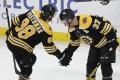 NHL: Edmonton prehral s Bostonom po predĺžení, Pastrňák rozhodol