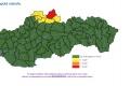 Na severe Slovenska hrozia prívalové povodne