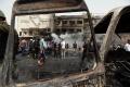 V Bagdade sa odpálil samovražedný atentátnik. Najmenej štyria mrtvi.