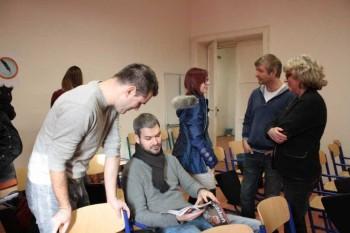 Na Deň otvorených dverí prišlo na katedru žurnalistiky až 86 záujemcov