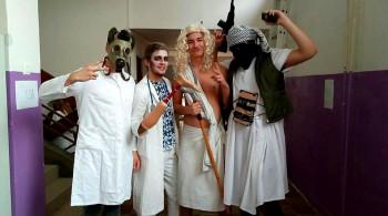 Halloween na Trebišovskej 12