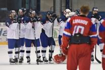 Slovensko prehralo vo štvrťfinále na MS 18 s Rusko