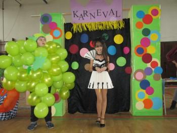 Detský karneval v ZŠ Kráľovský Chlmec