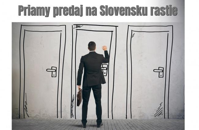 Priamy predaj na Slovensku rástol aj napriek koronakríze