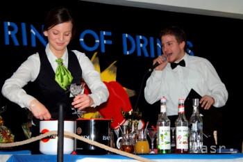 Na študentských Gastrodňoch v Prievidzi bude aj barmanská show