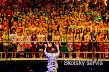 Zimný štadión Ondreja Nepelu sa rozozvučí spevom 800 detí