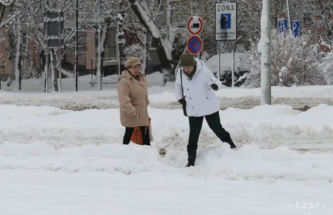 V Oravskej Lesnej pribudlo za 24 hodín 20 cm nového snehu - 24hod.sk ebbf9af6894
