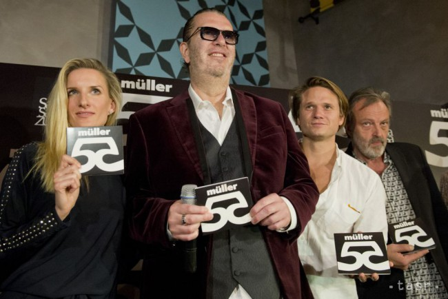 Richard Müller dostal za album 55 dvojitú platinovú platňu