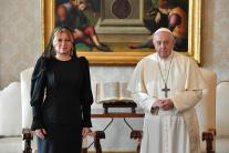 Audiencia prezidentky SR Zuzany Čaputovej vo Vatik
