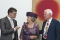 REPORTÁŽ: Holandská princezná Beatrix otvorila výstavu v Danubiane