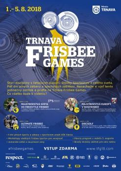 Päť dní plných športu a zábavy - to budú Frisbee Games v Trnave