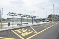 Nový prestupový terminál vo Svätom Jure