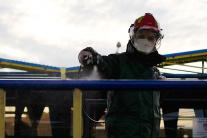 dezinfekcia, Kežmarok, hasiči