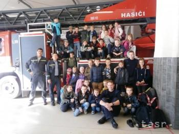 Na návšteve u hasičov
