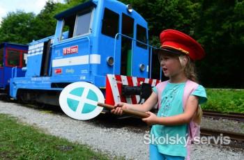 Detská železnica premáva aj po letných prázdninách