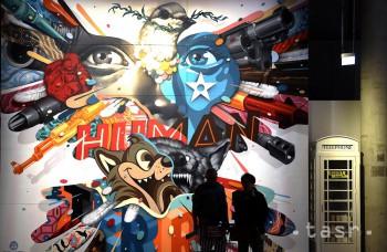 FOTO: Umenie ulice nemusí byť brak. Svedčí o tom výstava Magic City