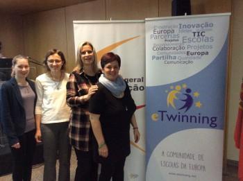 Slovenský eTwinning v Lisabone