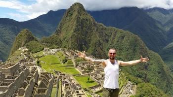 Suvereno natáčal na jednom z najkrajších miest na Zemi