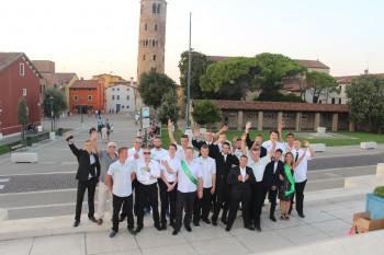 Ostužkovaní štvrtáci z Tlmáč si užívali v Taliansku