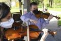 VIDEO: V košickom parku sa predstavil sláčikový orchester