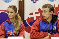 Monika Chochlíková (vľavo) a Tomáš Tadlánek
