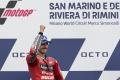 Bagnaia triumfoval na VC San Marína MotoGP pred Quartararom
