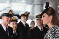 Kate, vojvodkyňa z Cambridge krstila loď