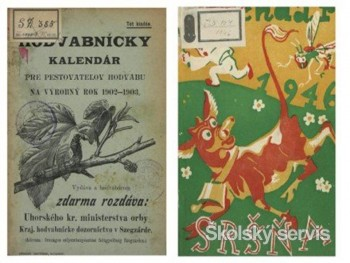 Historické kalendáre z 19. a 20. storočia sú už zdigitalizované