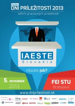 IAESTE Slovakia prináša unikátny veľtrh iKariéra Dni príležitostí