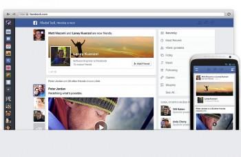 Facebook radikálne zmení svoj dizajn, bude krajší a modernejší