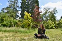 Oddych v botanickej záhrade v Trnave