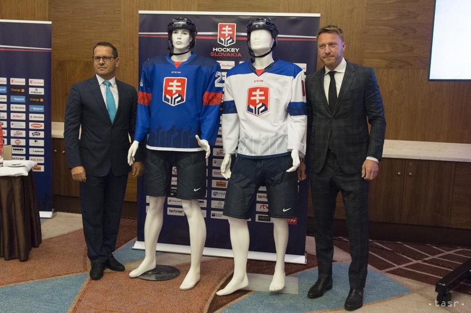 0c576e7b601e3 M. Lubyová: Hokejový zväz upraví dresy reprezentácie