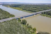 Dron zachytil práce na bratislavskom nultom obchva