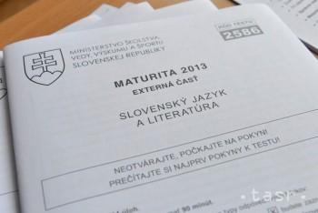 Neúspešné písomné maturity si študenti opravia už v septembri