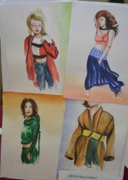 Výtvarná súťaž Mladá móda