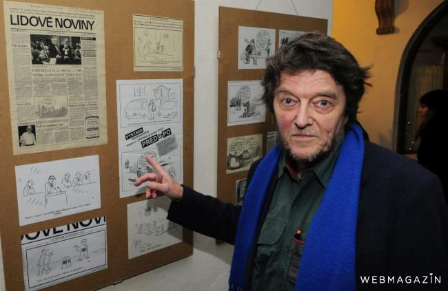 Rusínske múzeum v Prešove vystavuje karikatúry Fedora Vica