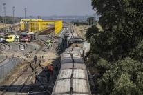 Zrážka vlaku s autom v Španielsku