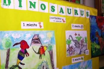 Základná škola Andreja Kmeťa ožila dinosaurami