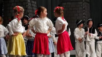 Detskí folkloristi zožali veľký úspech
