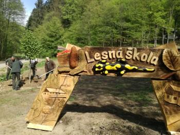 V Čermeľskom údolí otvorili prvú lesnú školu pre deti i dospelých