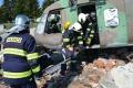 Slovenskí a českí vojenskí hasiči mali výcvik na Lešti