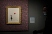 Výstava diel známeho britského streetartového umel