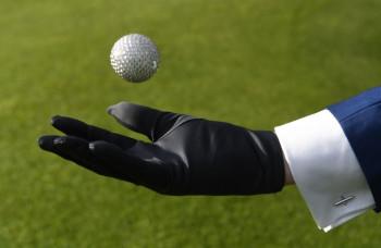 Najdrahšia golfová loptička na svete prišla na 24 hodín do Košíc