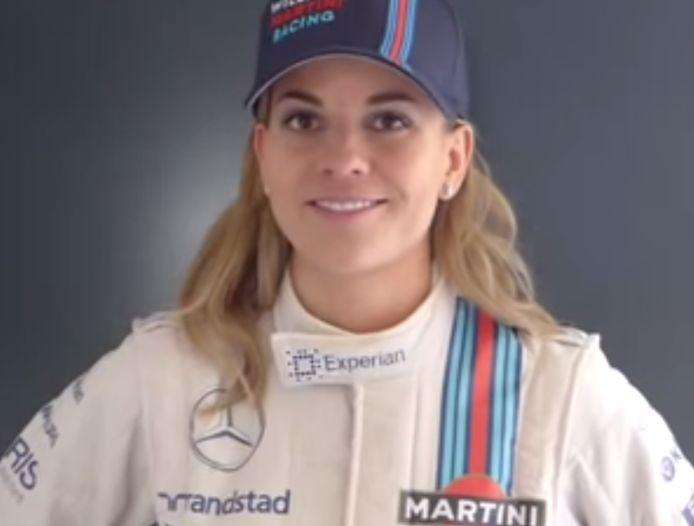 ŽENA v F1: Susie Wolffová bude testovacou pilotkou Williamsu
