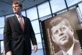 V USA vyšla známka pripomínajúca 100. výročie narodenia J.F. Kennedyho