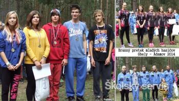 Mladí hasiči z Kopčian a Radošoviec vyhrali branný pretek Gbely-Adamov
