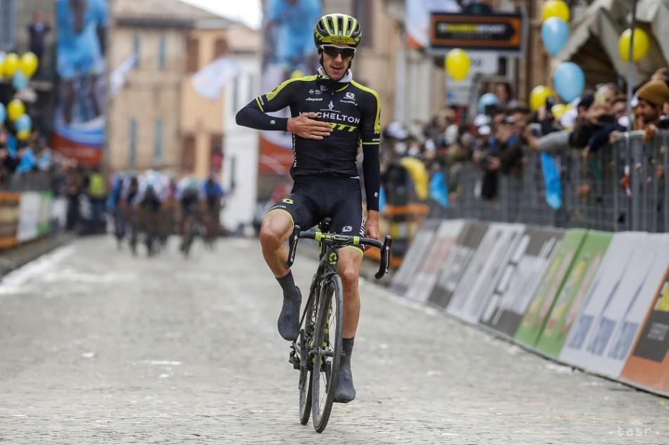Britský cyklista Adam Yates, archívna snímka. Foto: TASR/AP