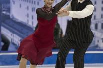 Krátky program slovenského tanečného páru